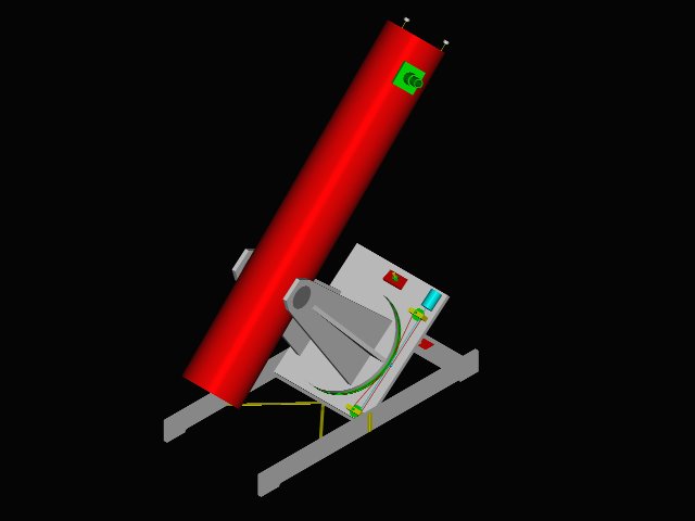 Equatorial Mount for a Dobsonian Telescope